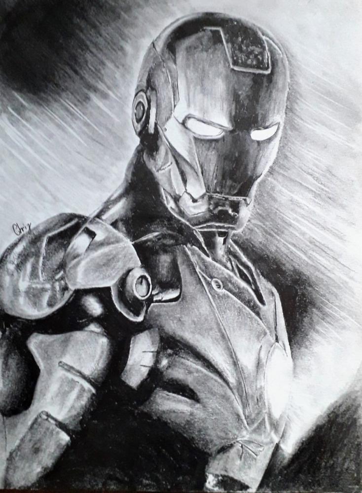 Iron Man por chrispicture